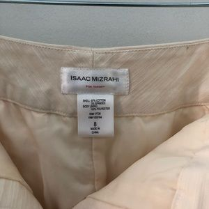 Isaac Mizrahi Cream Pencil Skirt with pockets
